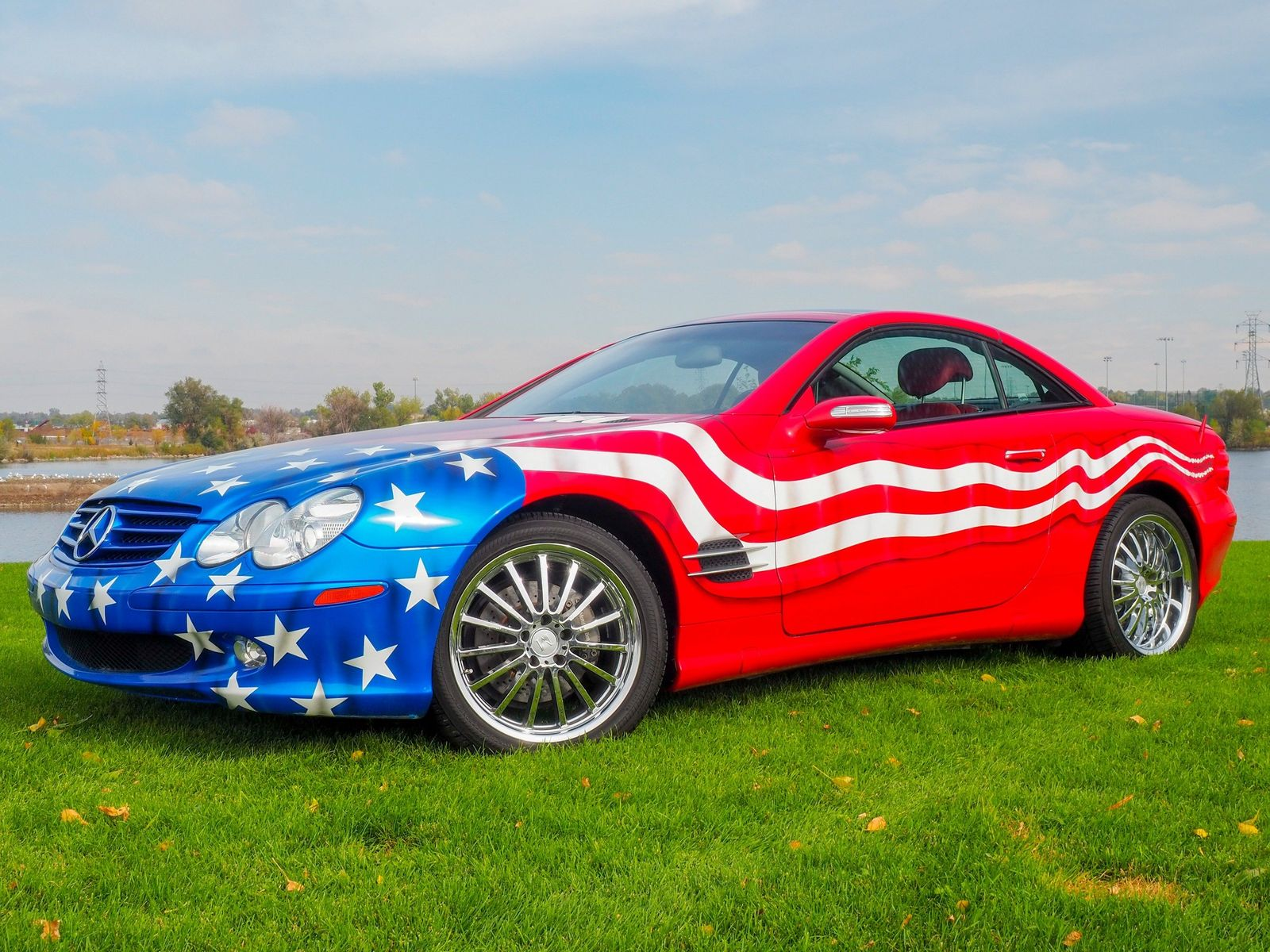 2004 Mercedes Benz SL Class SL 500 Support The Troops For Sale