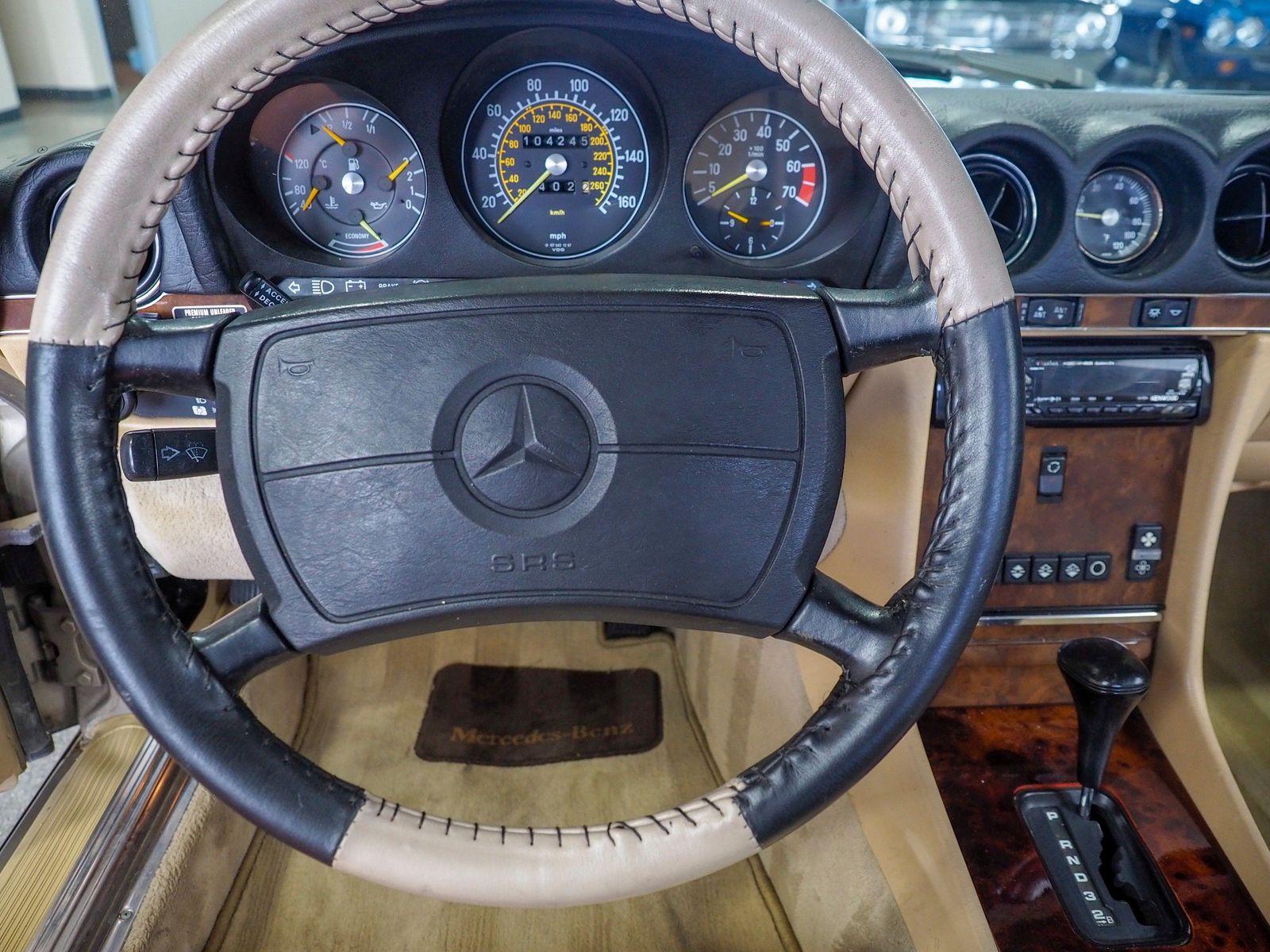 1988 Mercedes Benz 560 Class 560 SL For Sale