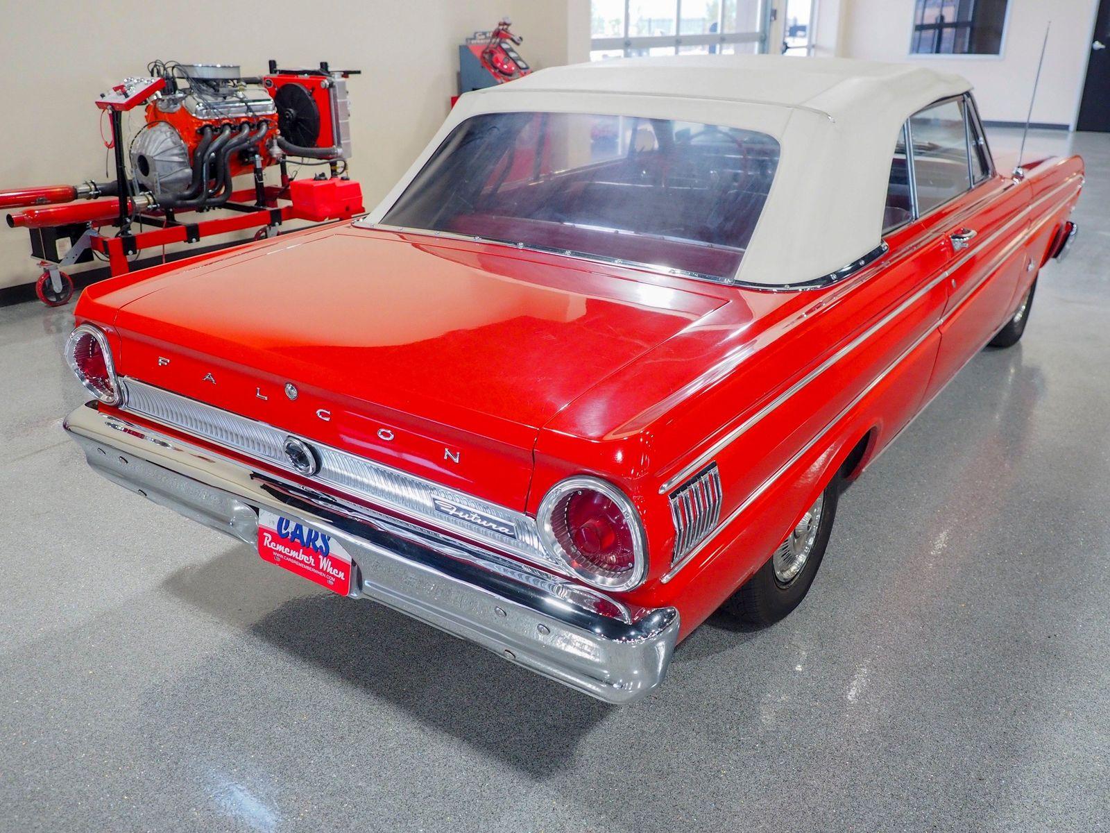 1964 Ford Falcon Futura Sport For Sale All Collector Cars Convertible 6