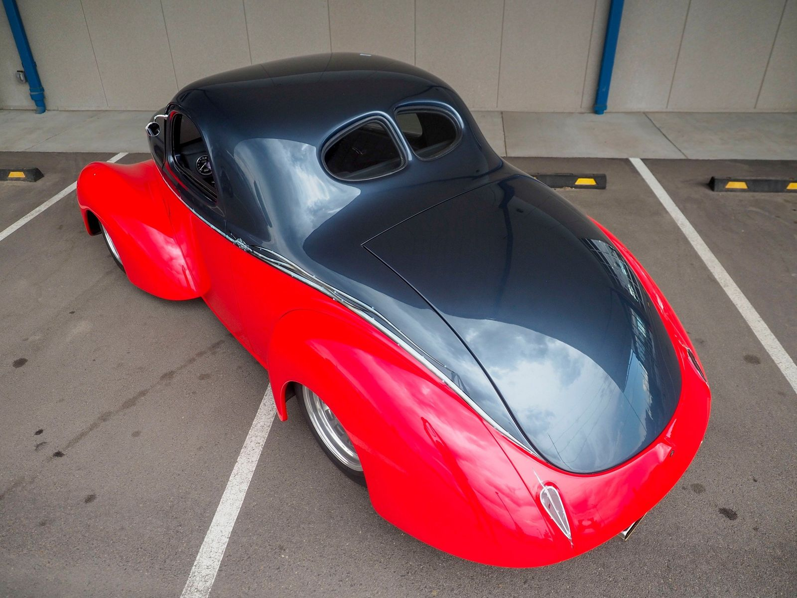1940 Willys Coupe 10