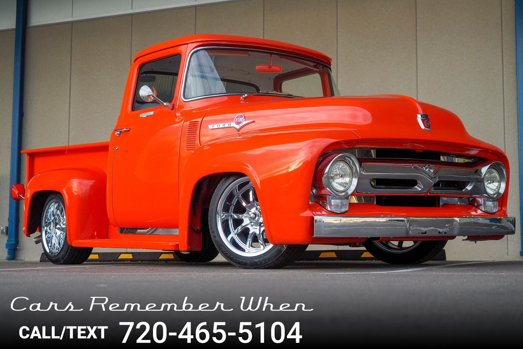 Interior Car Detailing >> 1956 Ford F100 | Cars Remember When