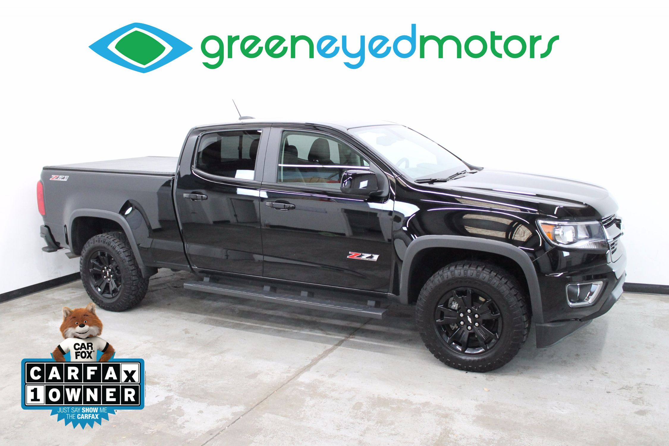 2017 chevrolet colorado z71 green eyed motors. Black Bedroom Furniture Sets. Home Design Ideas