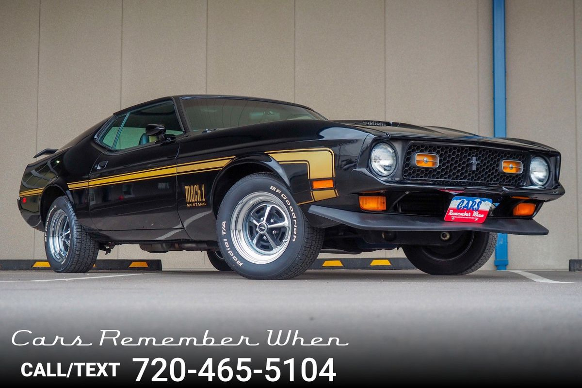Details about 1972 Ford Mustang Mach 1