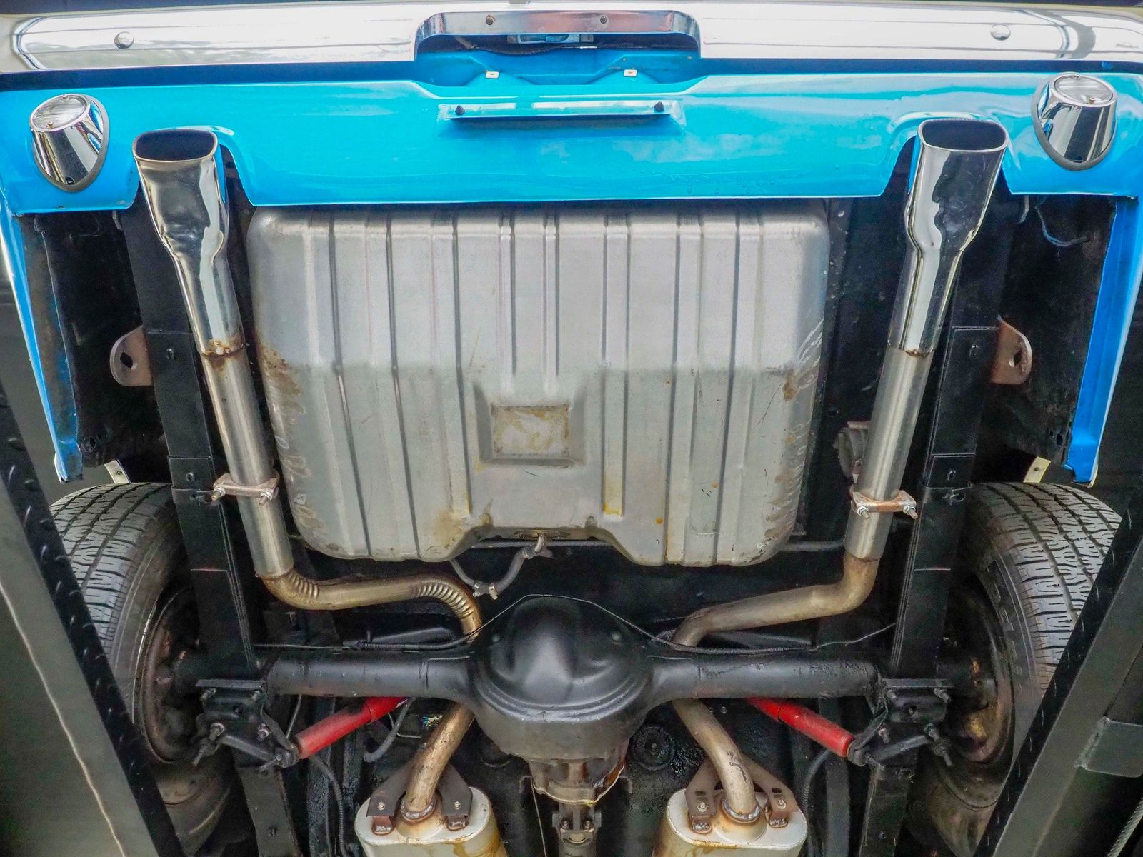 1970 Ford Mustang Mach 1 Mach 1 Grabber Blue 4 Speed White