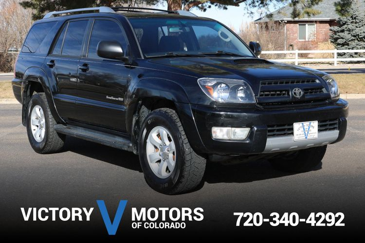 2003 Toyota 4runner Sport Edition Victory Motors Of Colorado