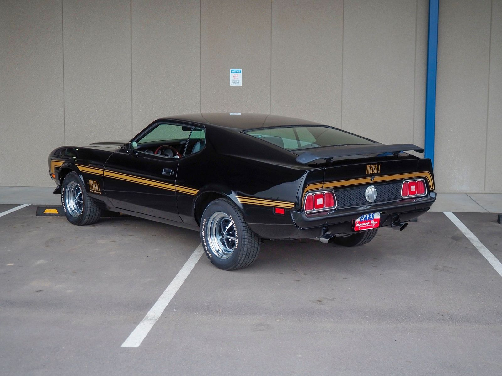 1972 Ford Mustang 4