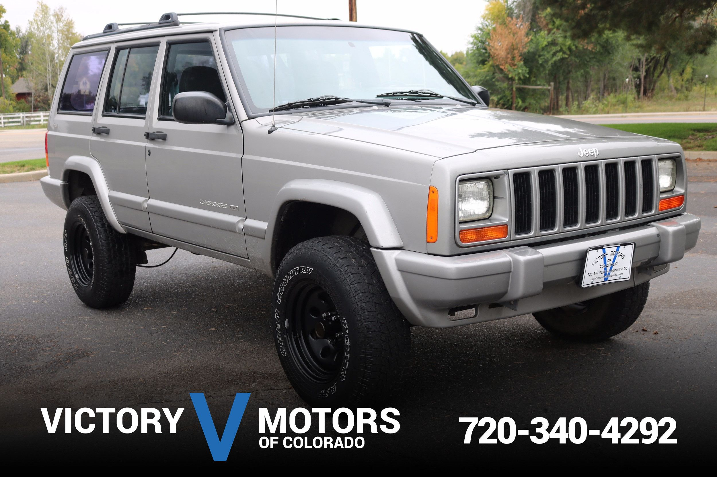 Superb 2001 Jeep Cherokee Limited