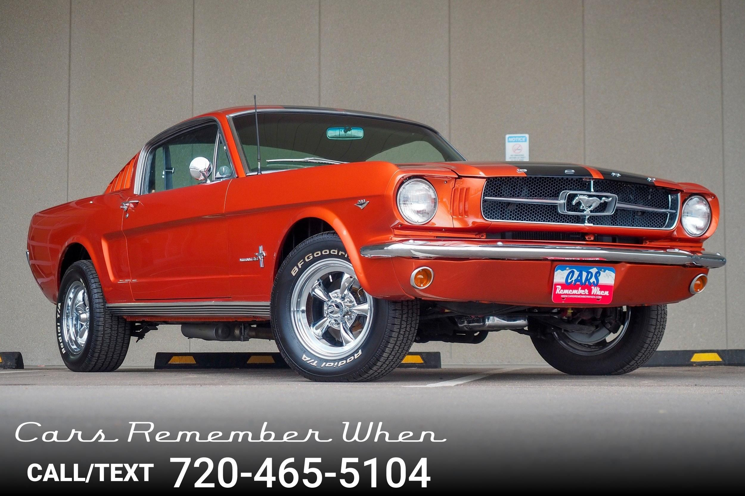 1965 ford mustang fastback 2 2