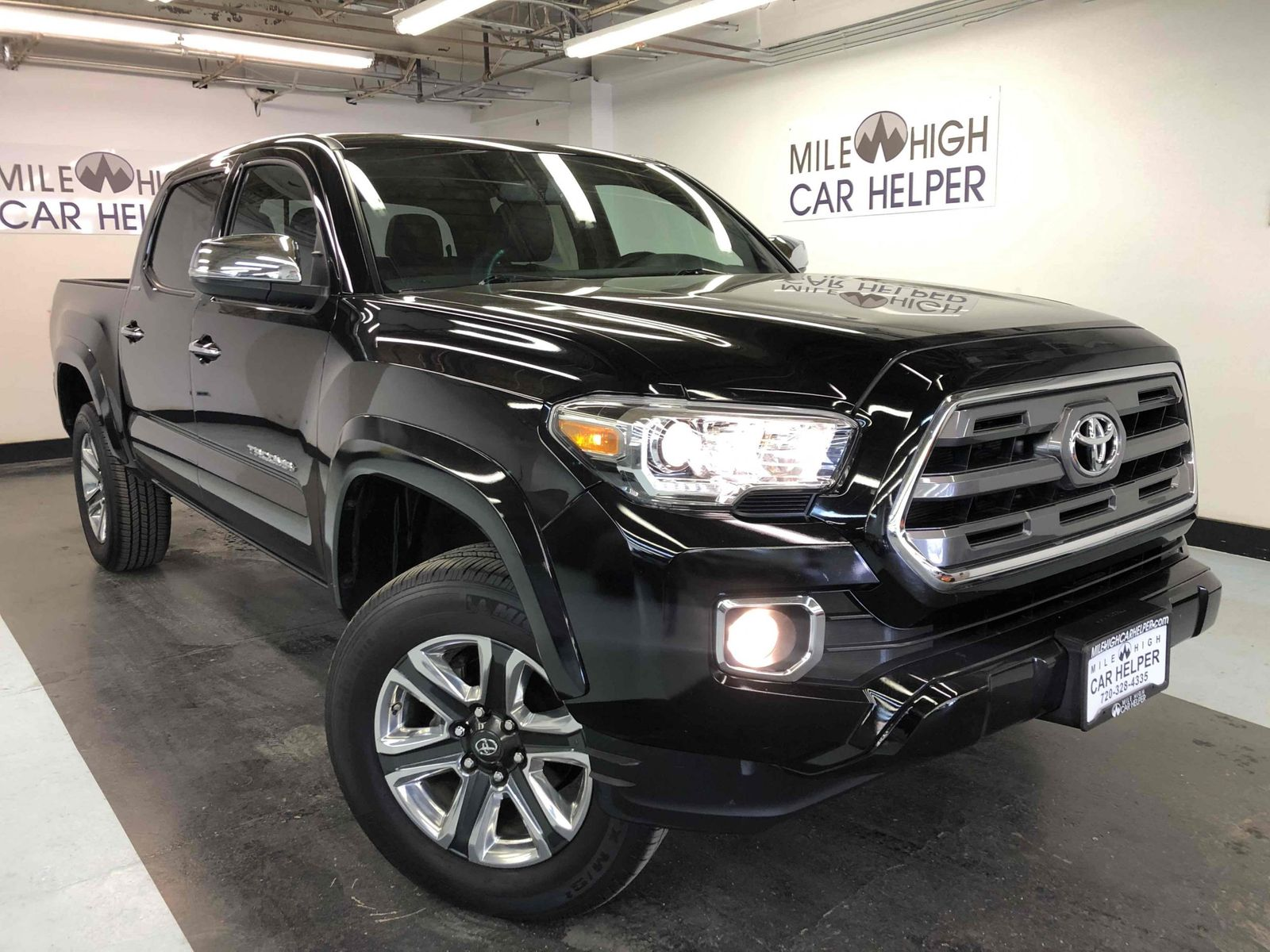 2017 Toyota Tacoma Limited Mile High Car Helper