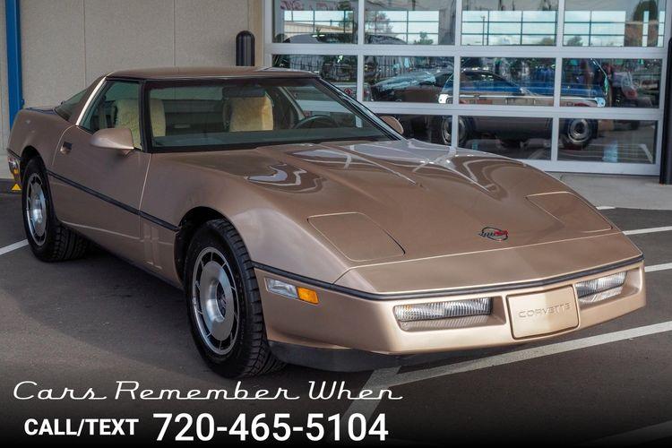 1984 Chevrolet Corvette   Cars Remember When