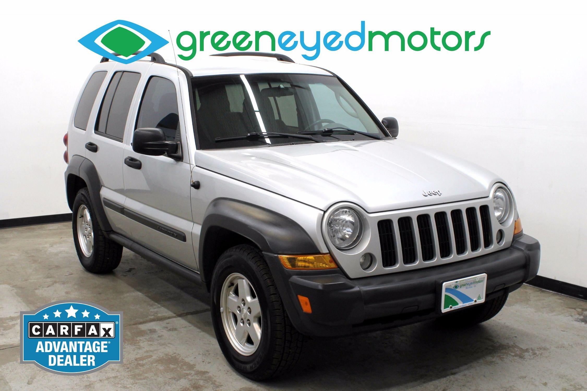 2006 jeep liberty sport | green eyed motors
