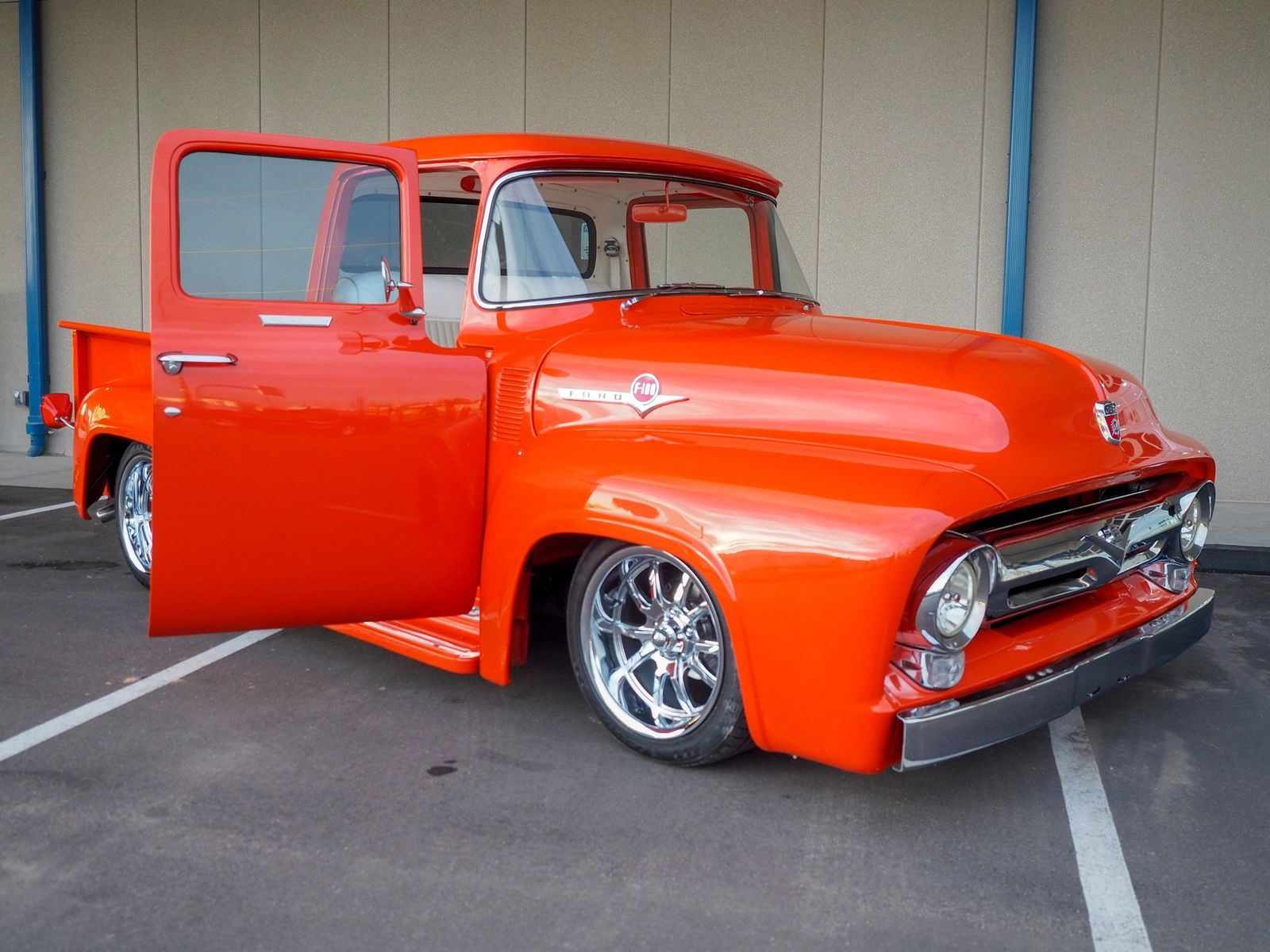 1956 Ford F100 45