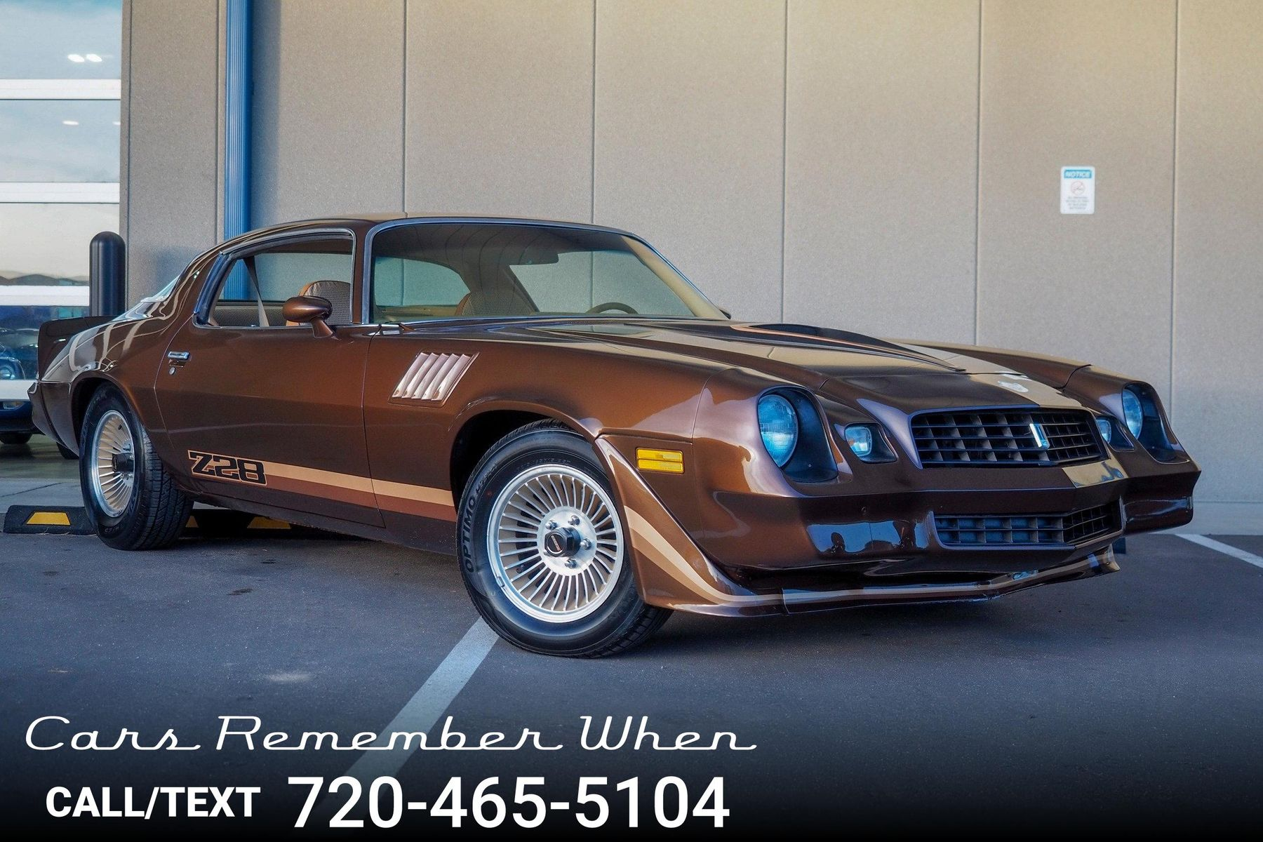 1979 Chevrolet Camaro Z28 350 V8 4 Speed R134a AC For Sale