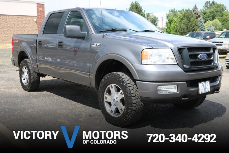 2005 Ford F150 Fx4 >> 2005 Ford F 150 Fx4 Victory Motors Of Colorado