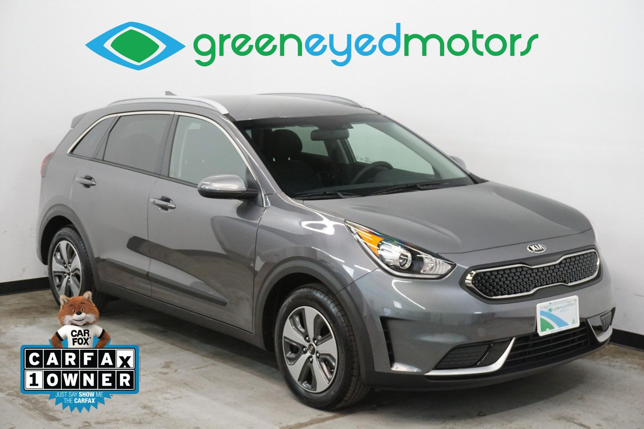 2018 Kia Niro Lx Hybrid Green Eyed Motors Rear View Camera 51 Mpg Highway