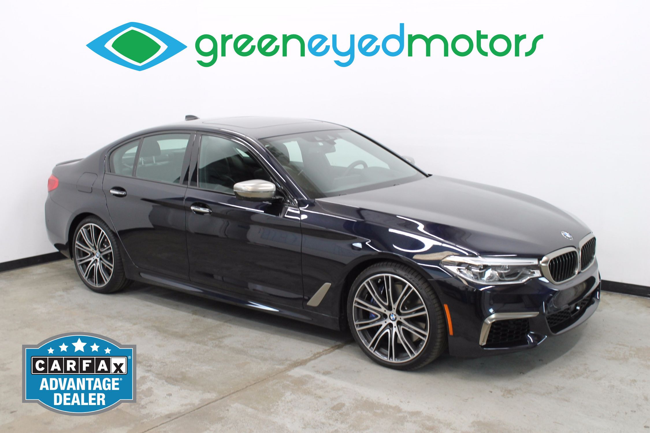 2018 Bmw 5 Series M550i Xdrive Green Eyed Motors