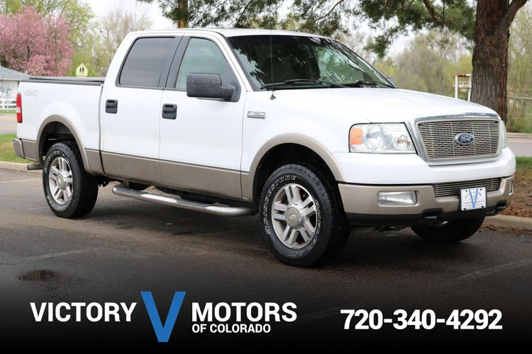 2005 Ford F150 Lariat >> 2005 Ford F 150 Lariat Victory Motors Of Colorado