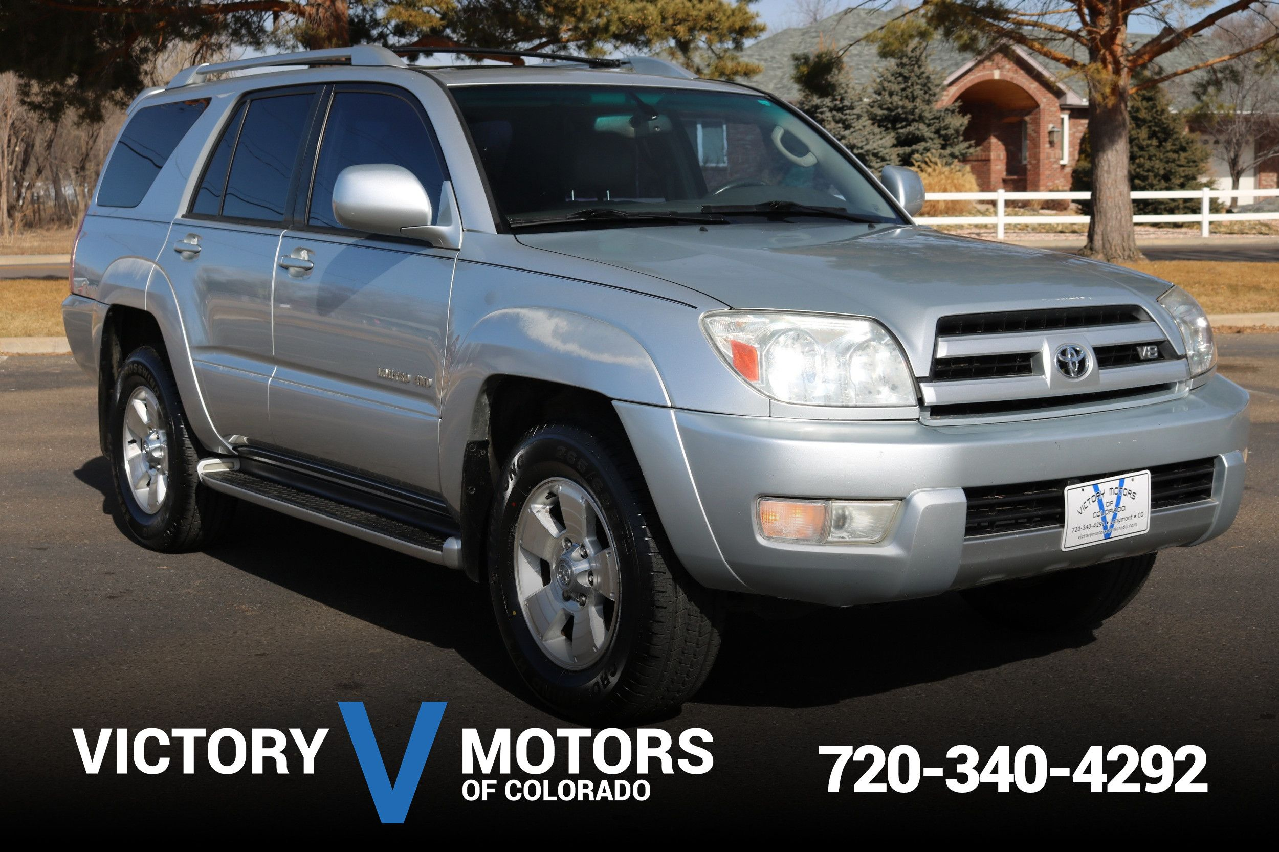 2003 Toyota 4Runner Limited. LIMITED 4WD