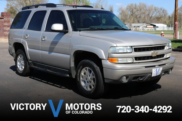 2004 Chevrolet Tahoe Z71 Victory Motors Of Colorado