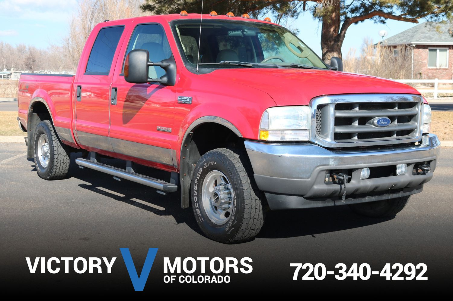 2004 Ford F 250 Lariat Victory Motors Of Colorado Super Duty