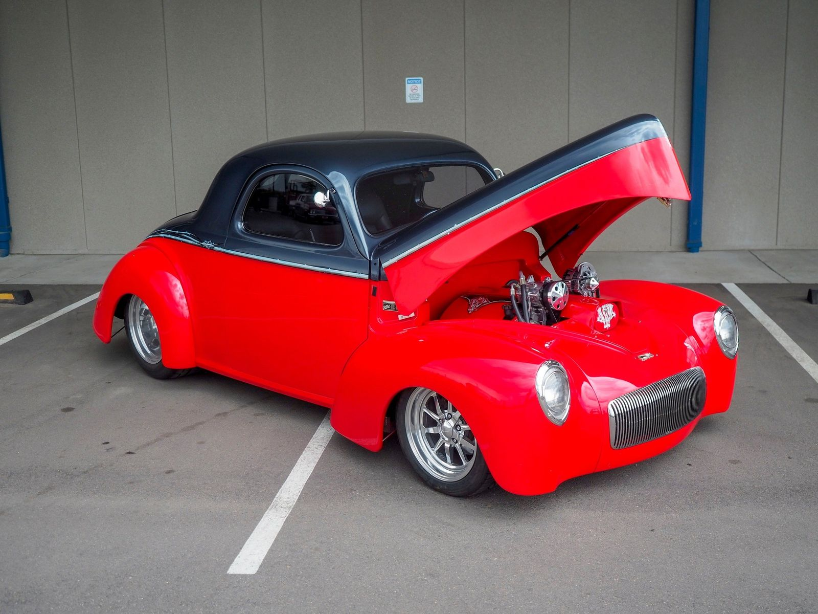 1940 Willys Coupe 22