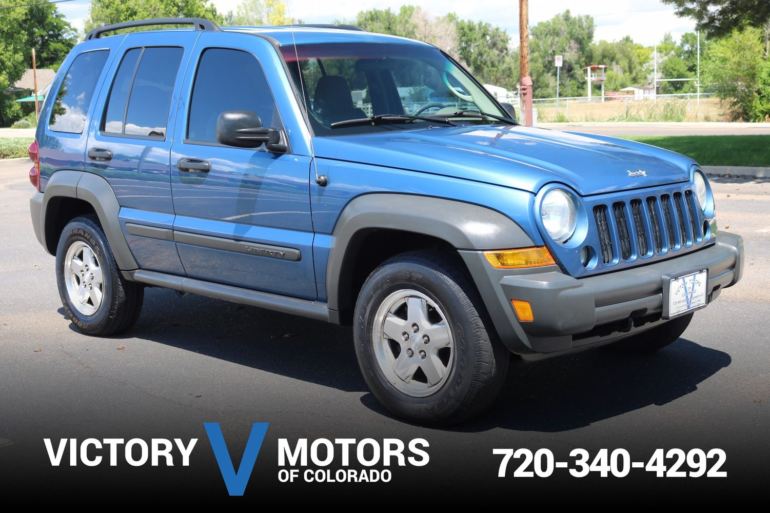 All Types liberty crd : 2006 Jeep Liberty Sport CRD | Victory Motors of Colorado