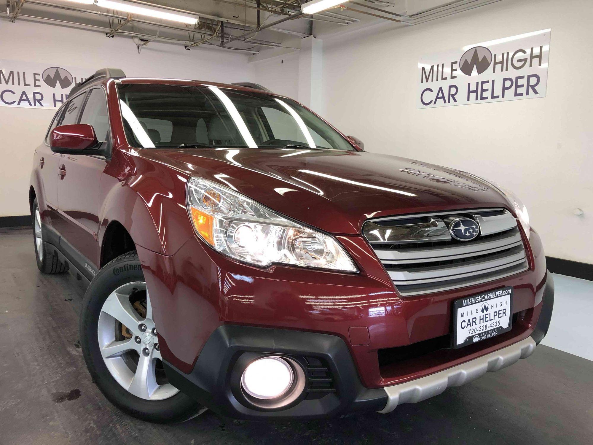 2014 Subaru Outback 2 5i Limited | Mile High Car Helper