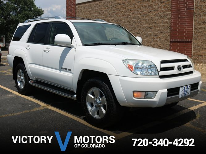 2004 toyota 4runner limited victory motors of colorado for Victory motors trucks longmont