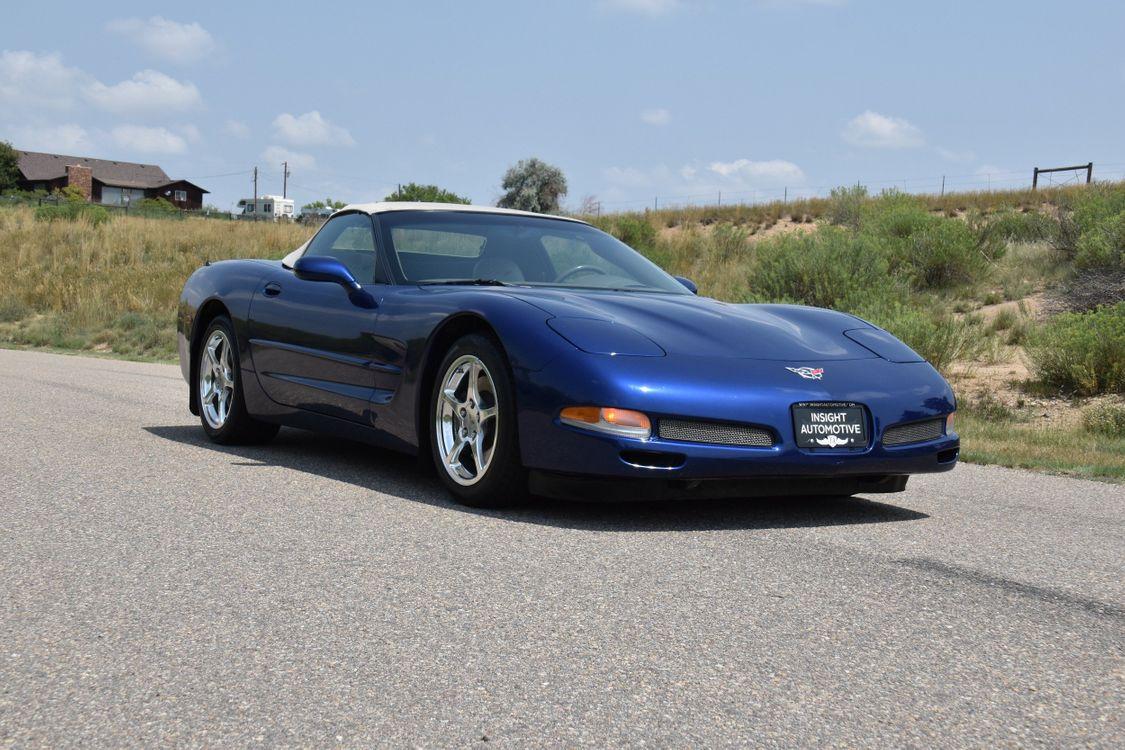 2004 Chevrolet Corvette Commemorative Lemans Blue Edition