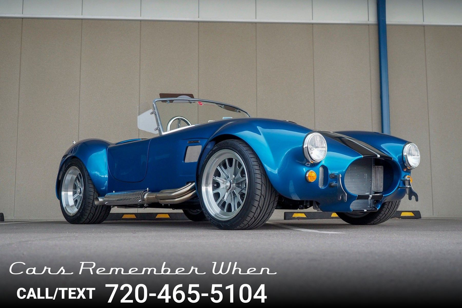 1965 Backdraft Racing Cobra Brand New Coyote 50L 5 Speed