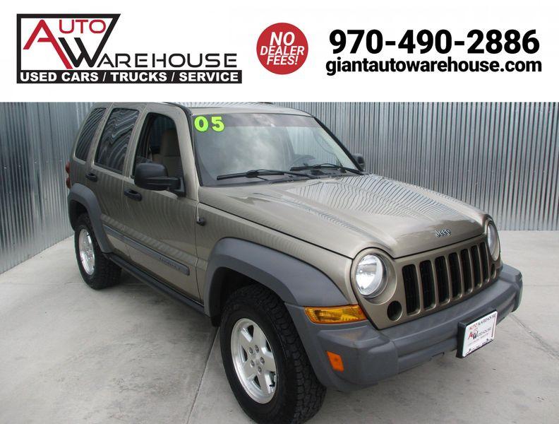 Inventory Auto Warehouse 2005 Jeep Liberty 4x4 Sport
