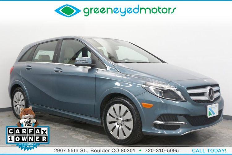 2014 Mercedes Benz B Class Electric Drive Green Eyed Motors