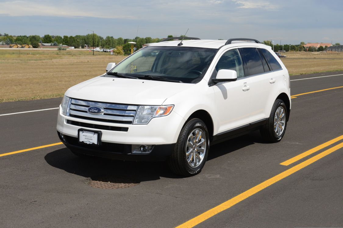 Ford Edge Limited Awd Heated Leather New Brakes New Tires