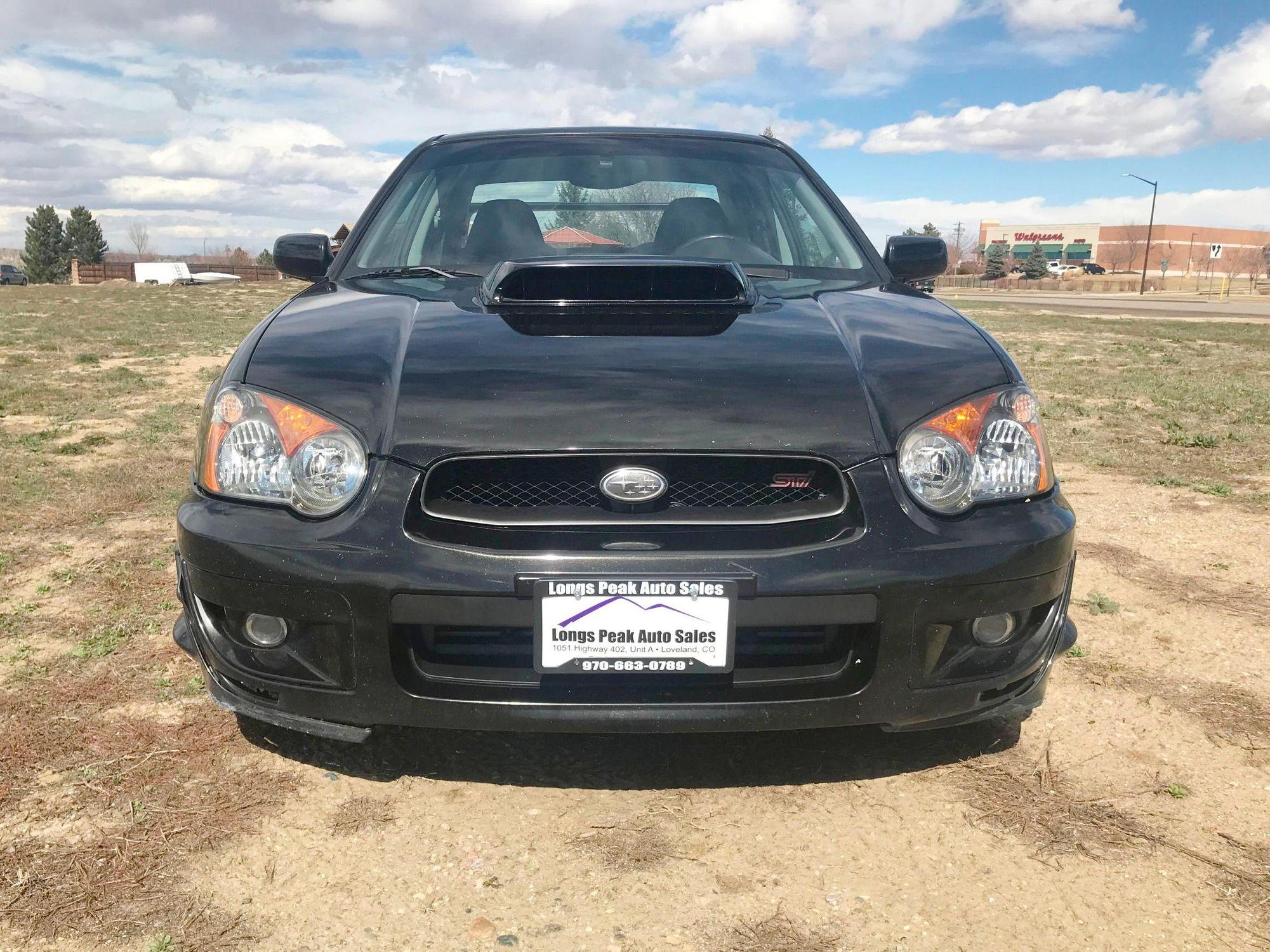 2004 Subaru Impreza WRX STI Used Vehicles Loveland CO