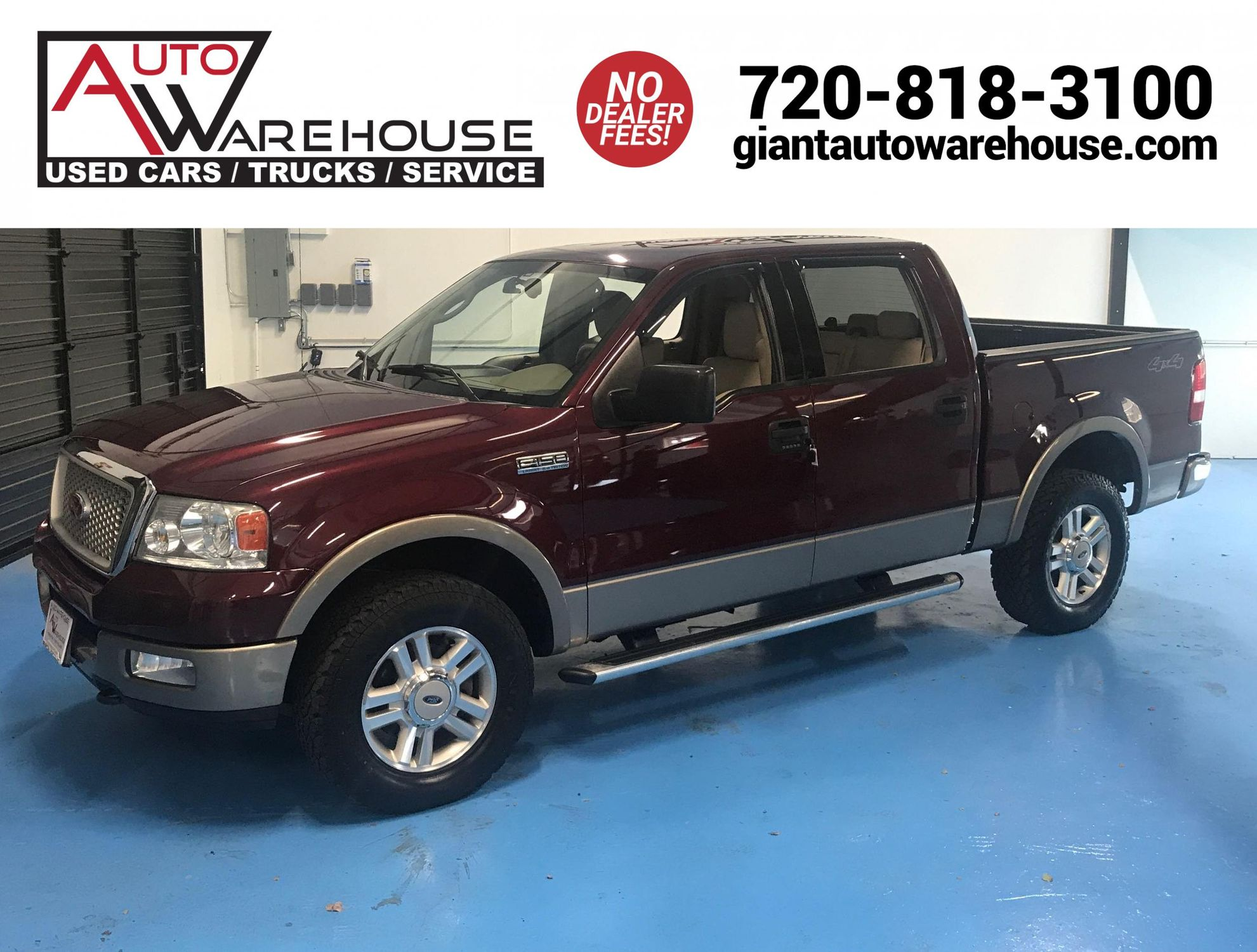 2004 Ford F150 Lariat >> 2004 Ford F 150 Lariat Auto Warehouse