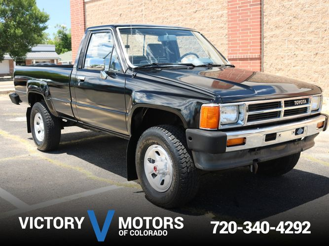 87 Toyota Pickup >> 1987 Toyota Pickup Victory Motors Of Colorado