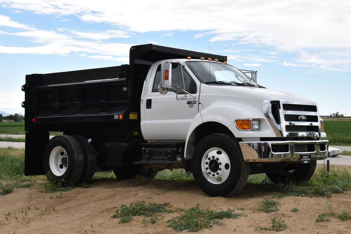 2015 ford f750 dump truck