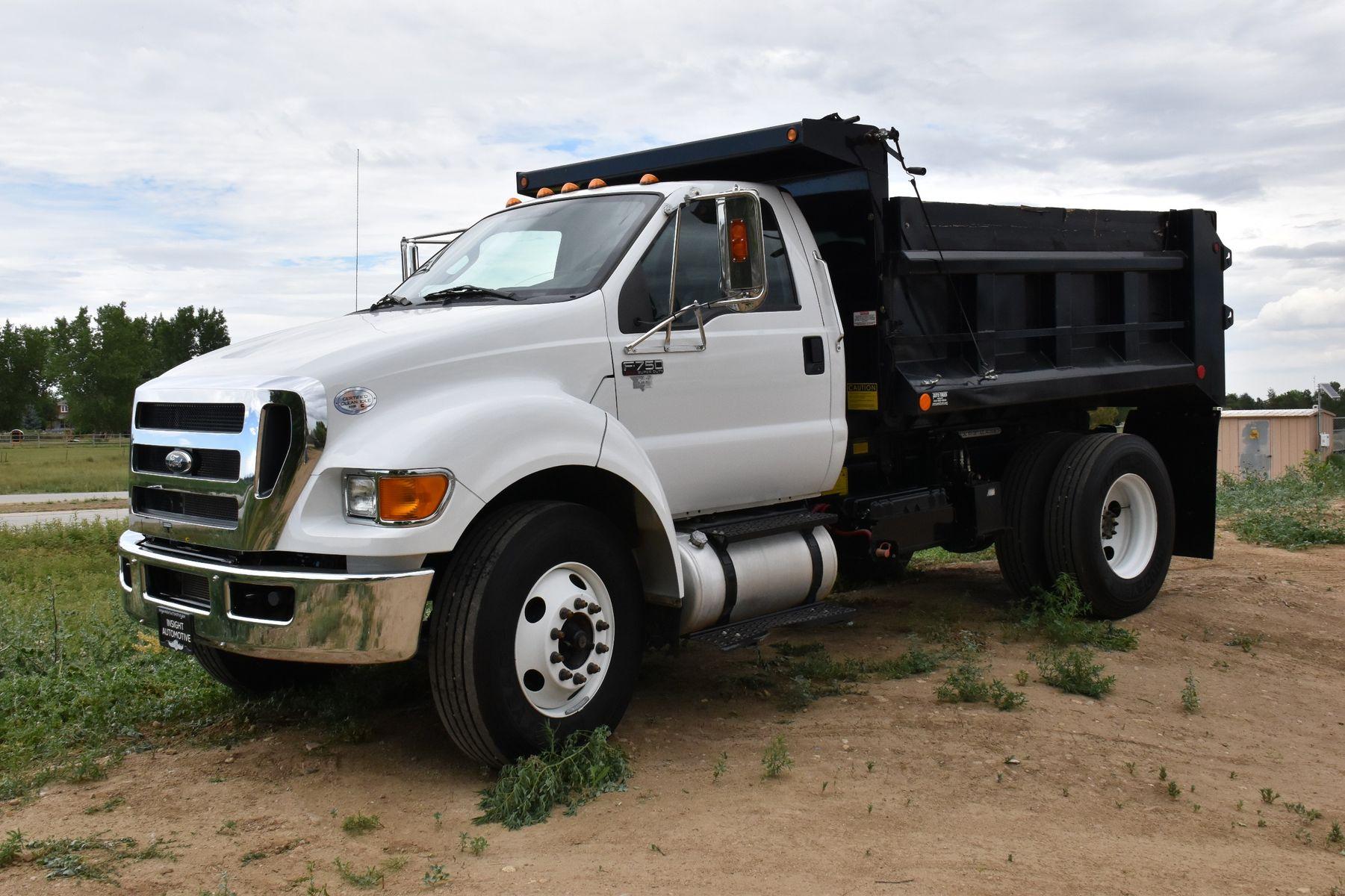 2015 ford f750 dump truck insight automotive