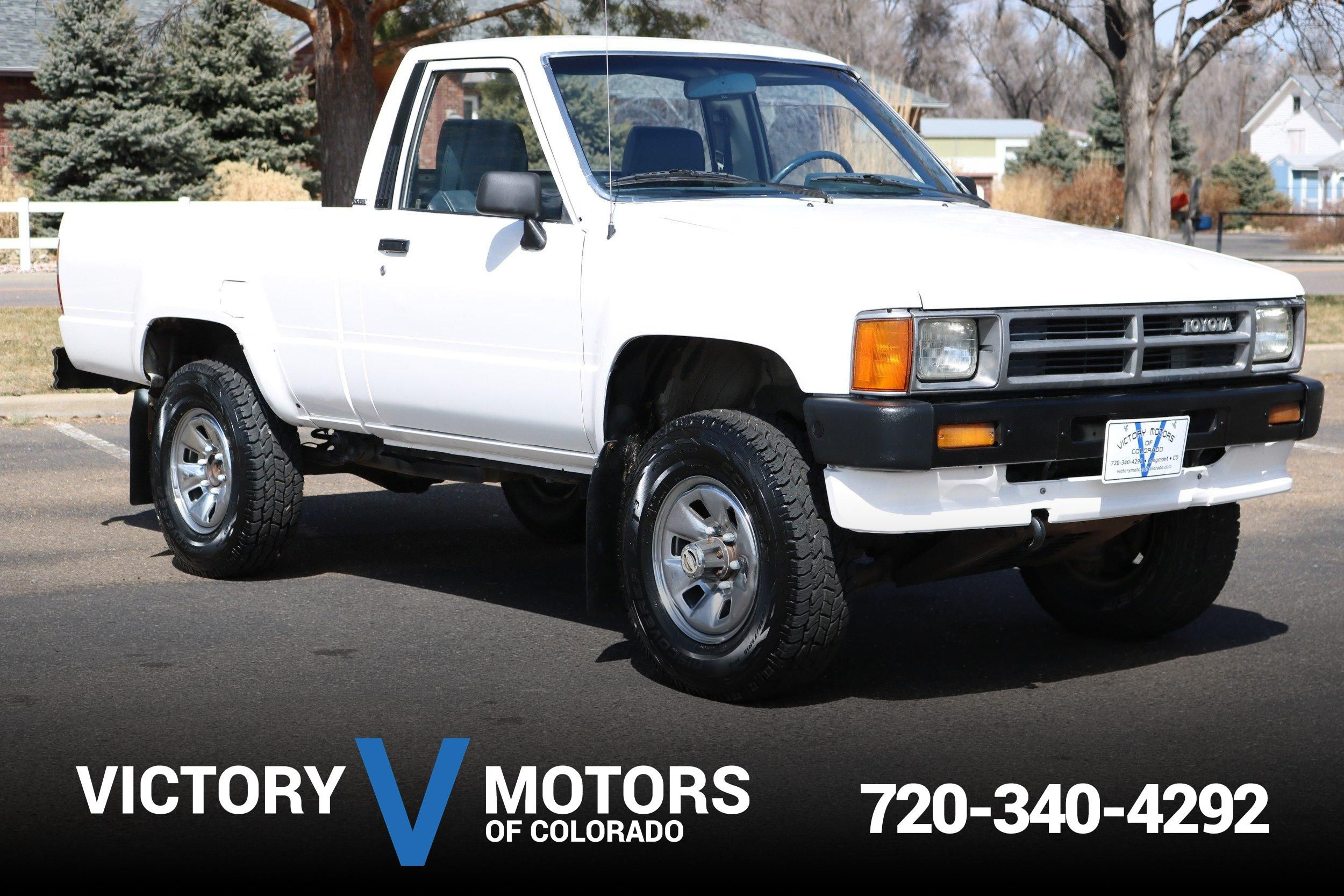 1987 Toyota Pickup 4wd Victory Motors Of Colorado