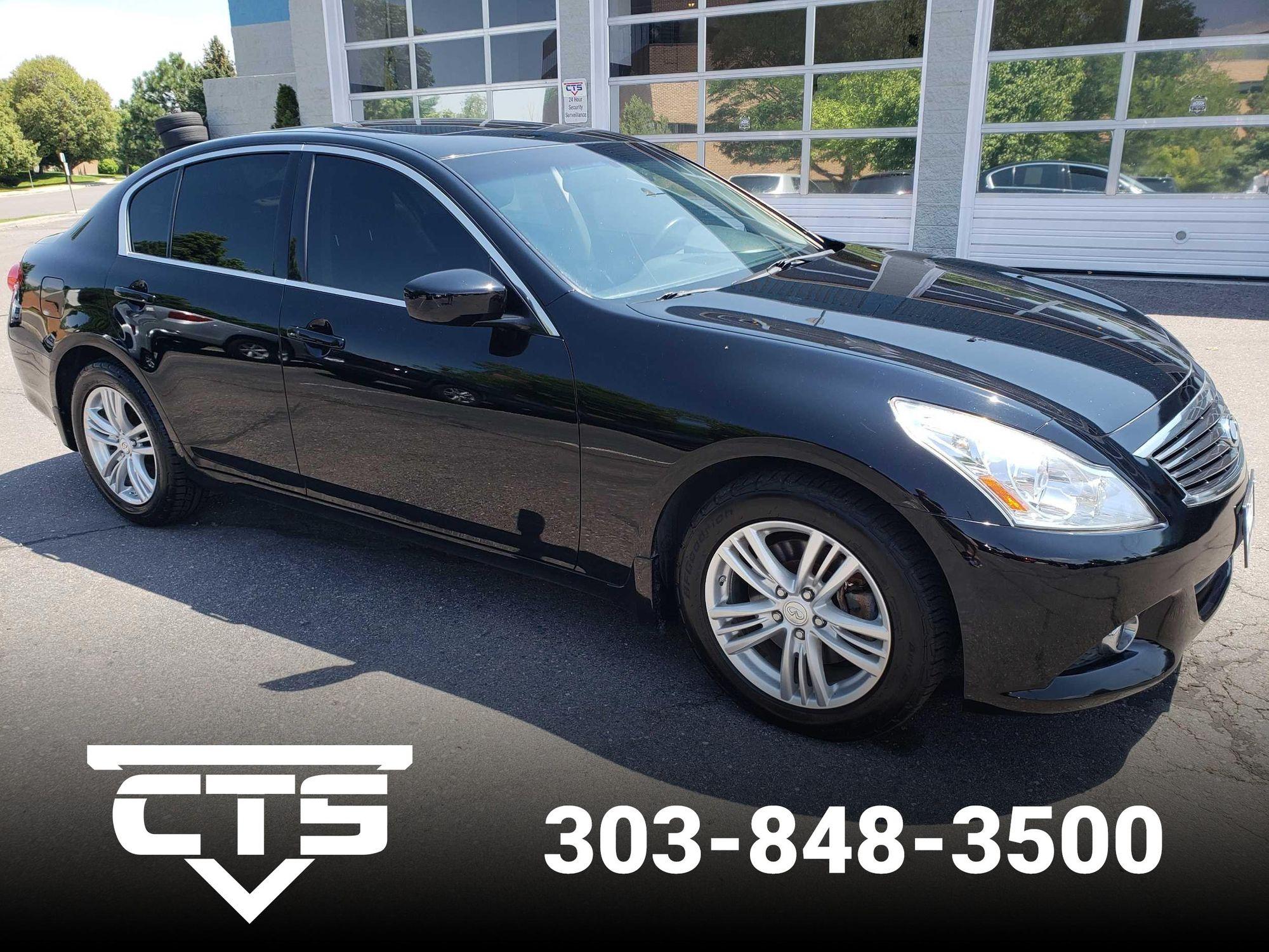 2012 INFINITI G37 Sedan x | CTS Auto Sales
