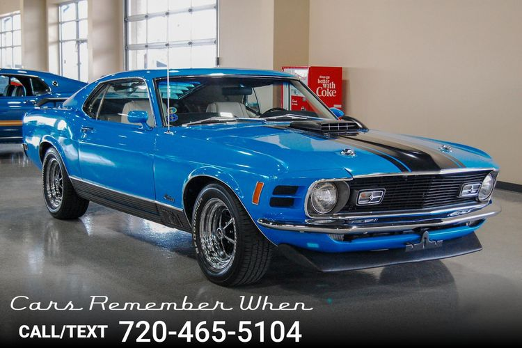 1970 Ford Mustang Mach 1   Cars Remember When