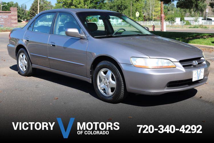 2000 Honda Accord Ex >> 2000 Honda Accord Ex V6 Victory Motors Of Colorado
