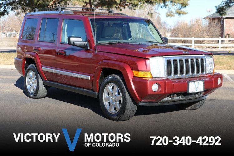 2008 Jeep Commander Limited Victory Motors Of Colorado