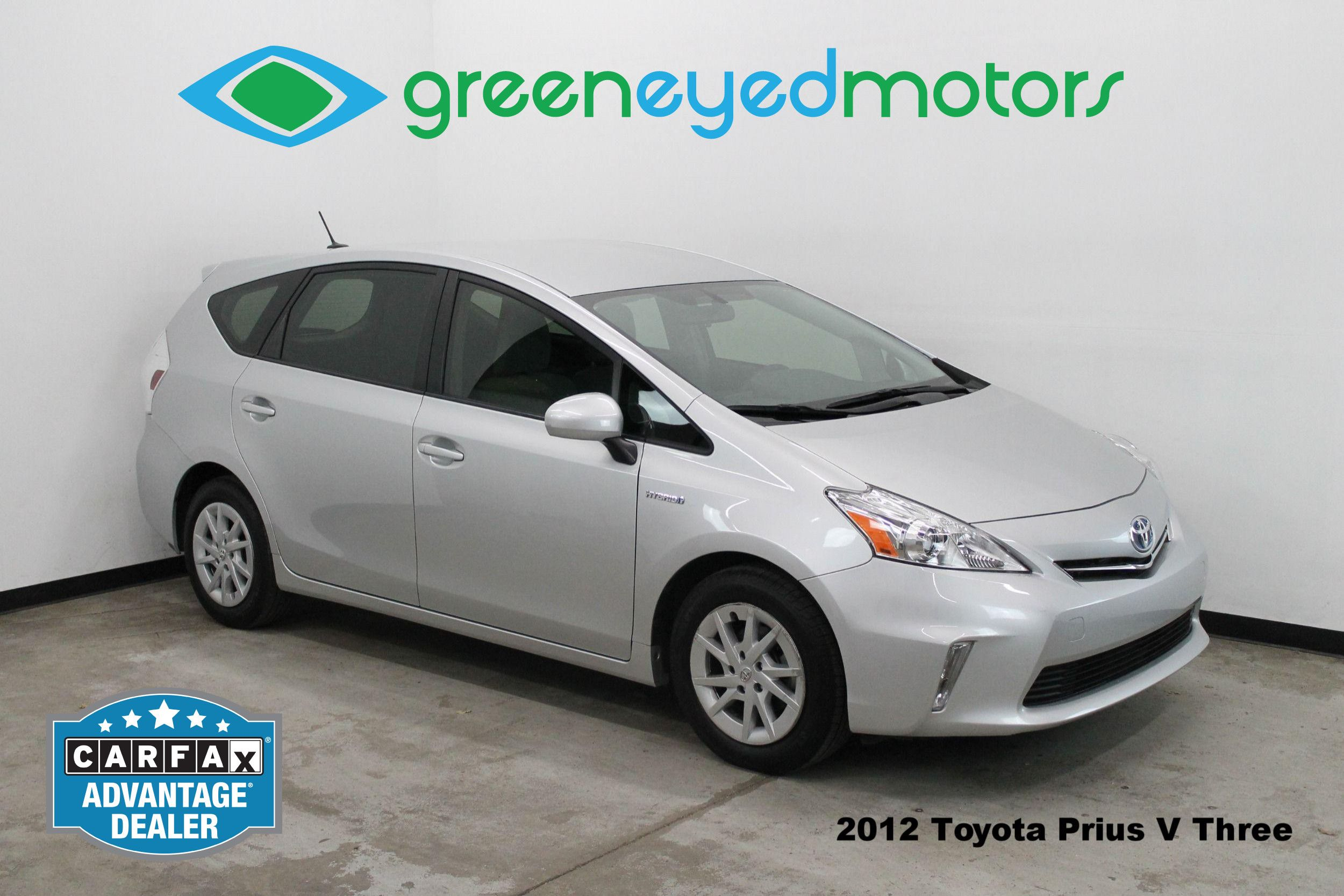 2012 Toyota Prius V Three. Rear View Camera   40+ MPG!!   Tons Of Room!