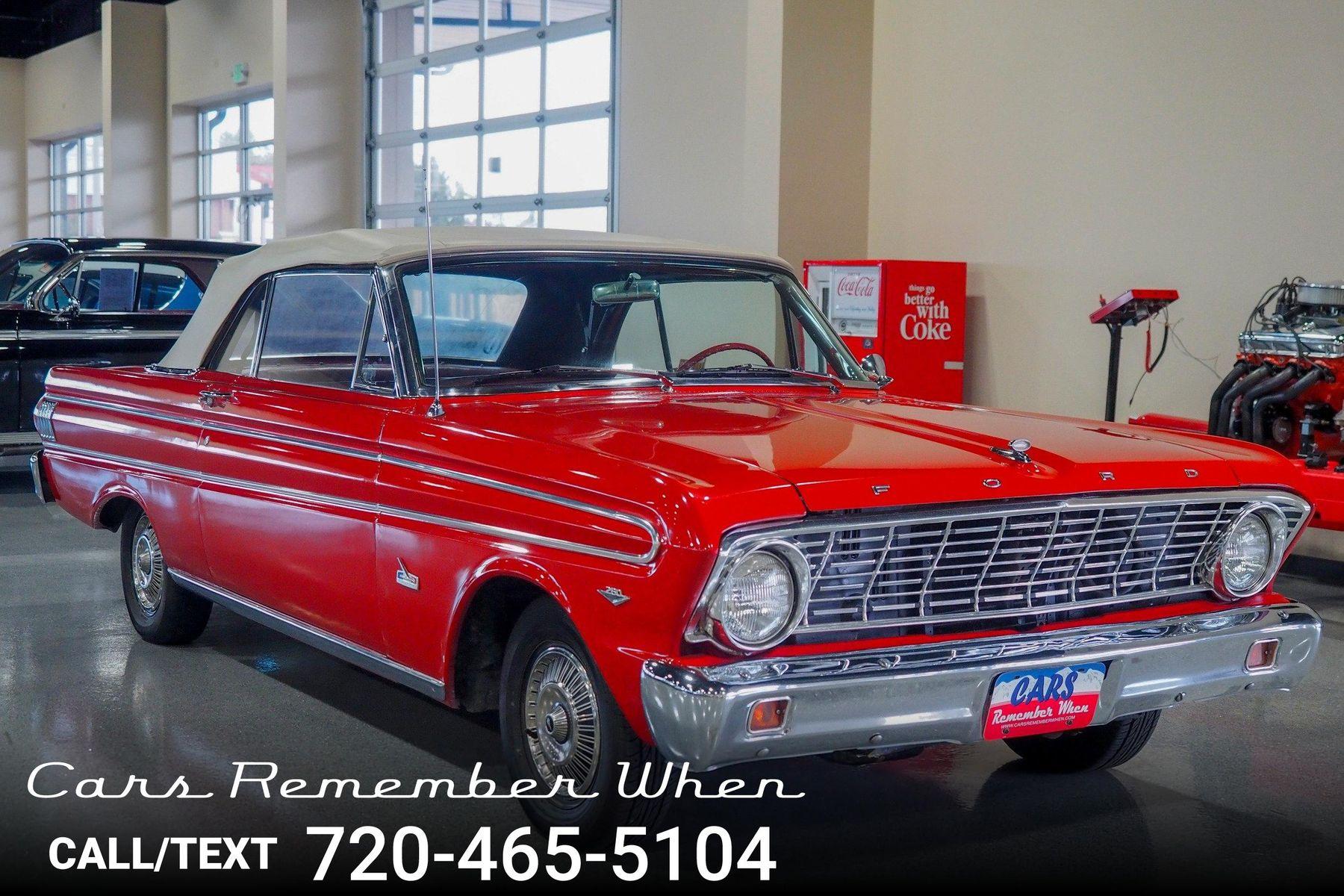 1964 Ford Falcon Futura Sport Cars Remember When Convertible
