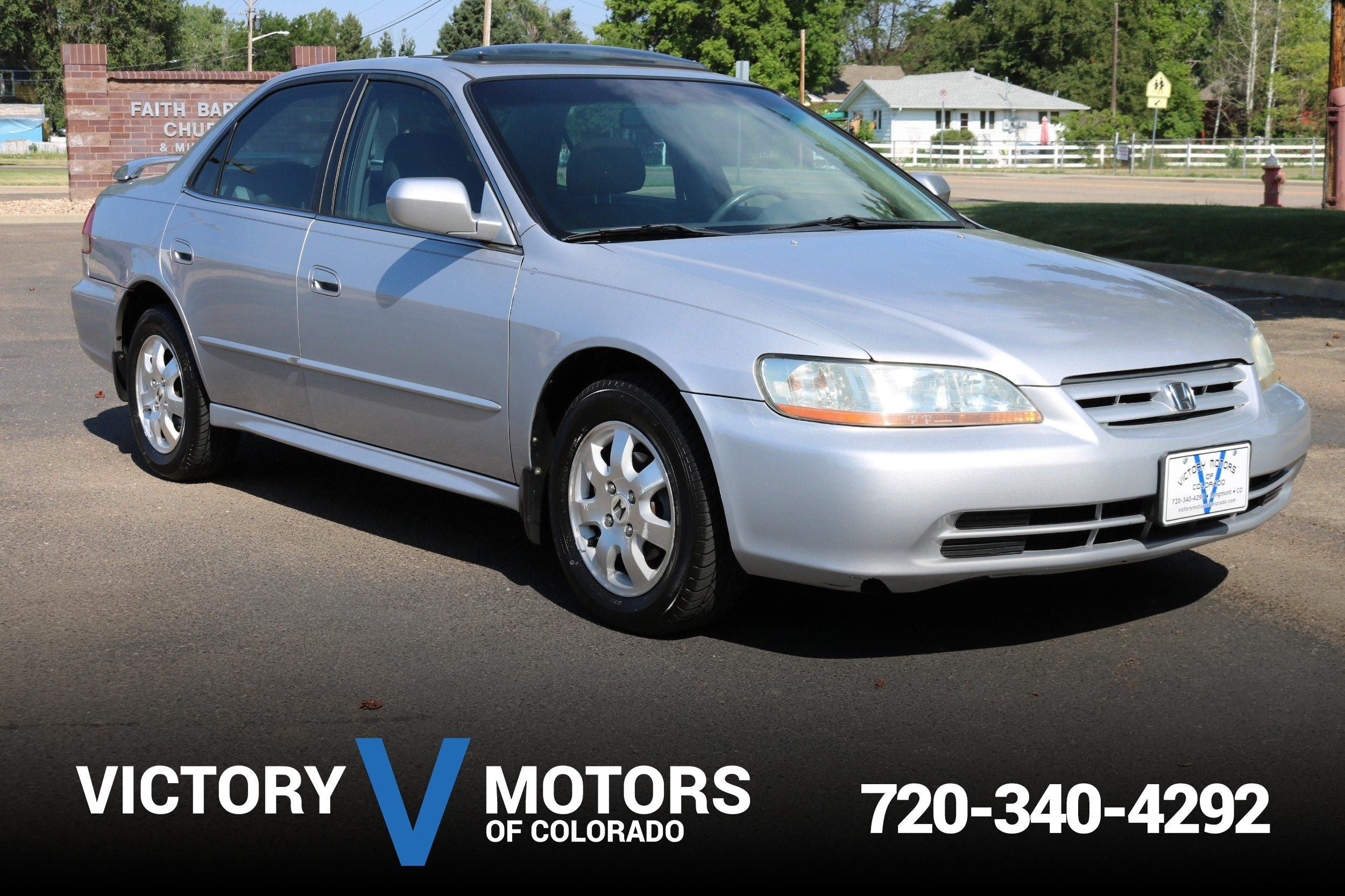 Exceptional 2001 Honda Accord EX W/Leather