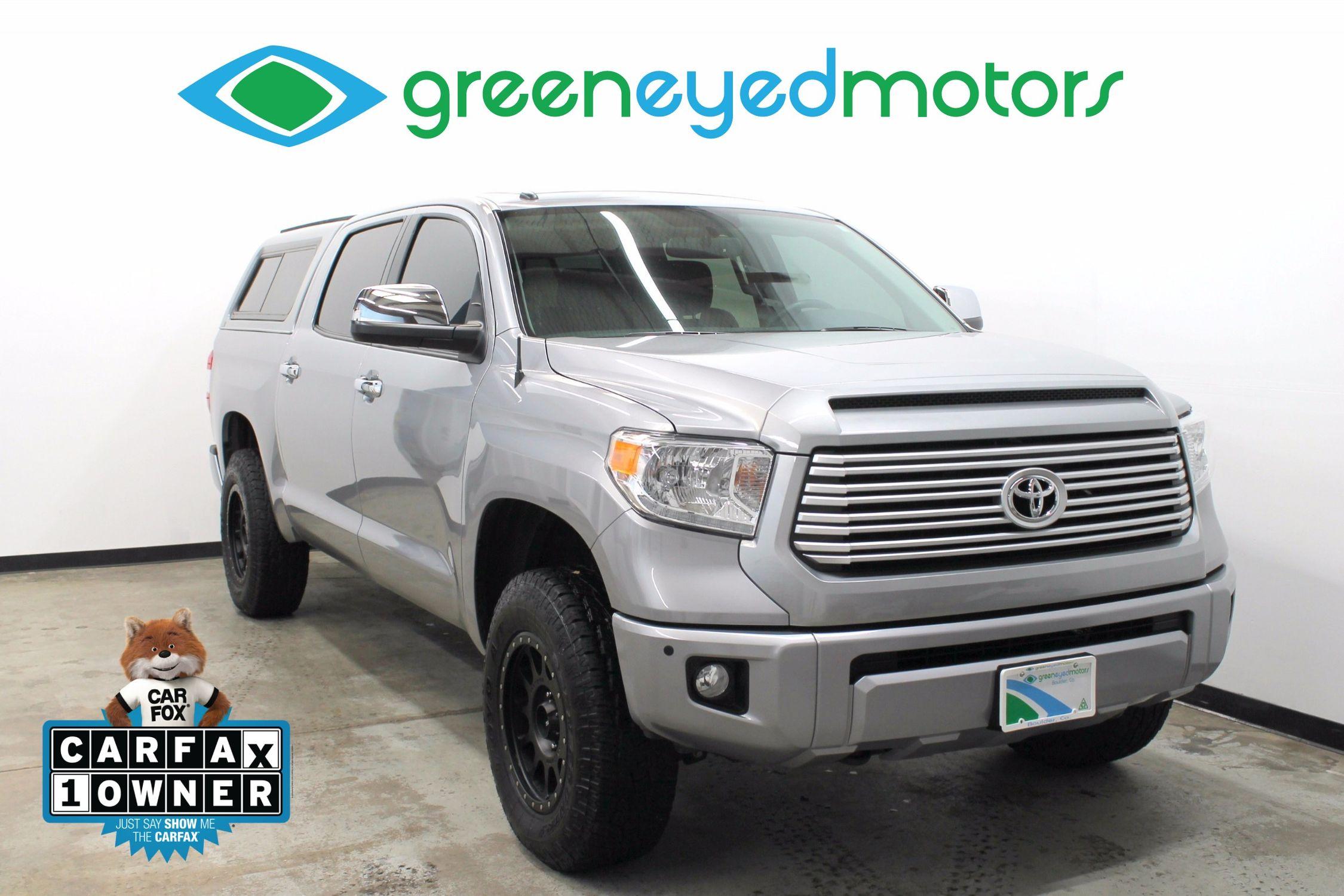 2016 Toyota Tundra Platinum FFV