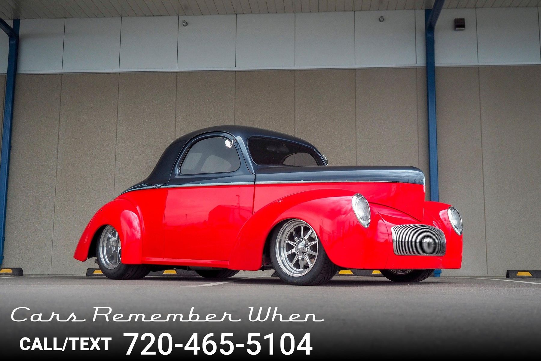 1940 Willys Coupe 1