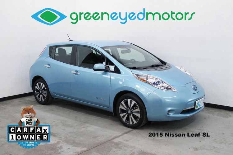 2015 Nissan Leaf Sl Green Eyed Motors