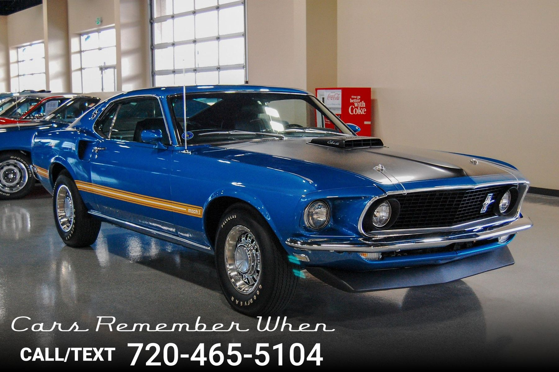 1969 Ford Mustang Mach 1 Cars Remember When Torino Gt 428 Co Jet